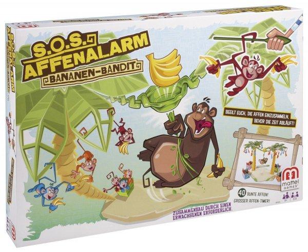 [Amazon Prime, Plusprodukt] Mattel S.O.S. Affenalarm Bananen-Bandit Kinderspiel