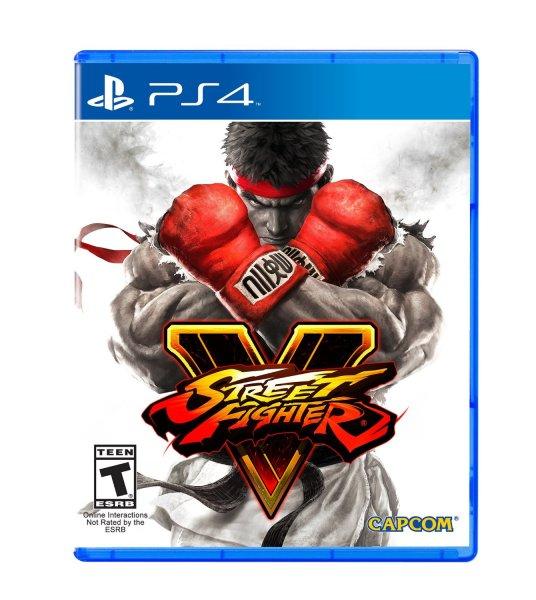 Street Fighter V - PlayStation 4 Standard Edition inkl. Vsk für 15,76 € @ amazon.com