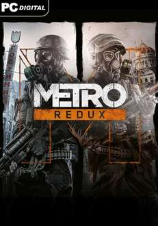 [Steam] Metro Redux Bundle (2033 & Last Light) @ gamesplanet.com - 7,49€