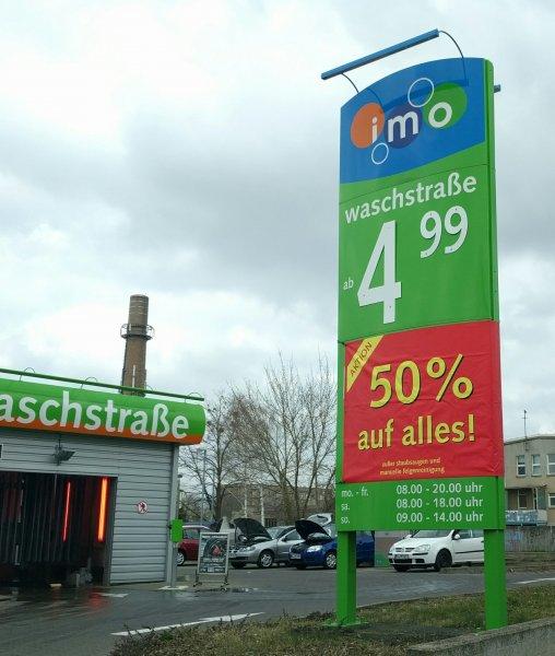Autowäsche Magdeburg 50% imo Liebknechtstraßr
