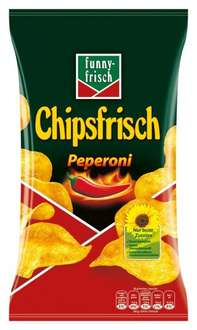 funny-frisch Chipsfrisch Peperoni 10er Pack (10 x 175 g) Amazon Prime
