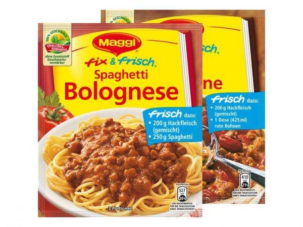 [REWE BUNDESWEIT] 10x Maggi Fix & Frisch für 0,50€ (Angebot+Coupon)
