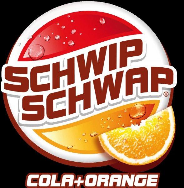 2 Liter Schwip Schwap Cola + Orange