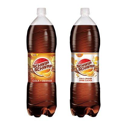 [NORMA] Schwip Schwap Classic oder Light 2l  ab Mo. für 0,59€ (=0,30€/l) // Coca Cola 2l für 0,99€ (=0,45€/l)