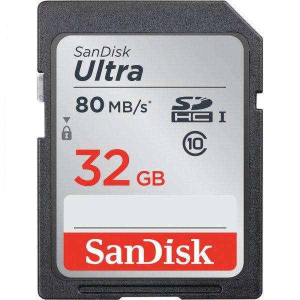 SANDISK Ultra SDHC 32 GB @ Ebay WOW für 9€