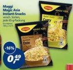[Real Bundesweit] Maggi Magic Asia Instant Snack 5 für 0,45€ dank Coupon (+ weite Gute Maggi Deals)
