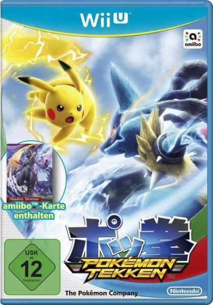 [Voelkner.de] Pokémon Tekken inkl. amiibo-Karte - Wii U - für 47,48 EUR inkl. VSK