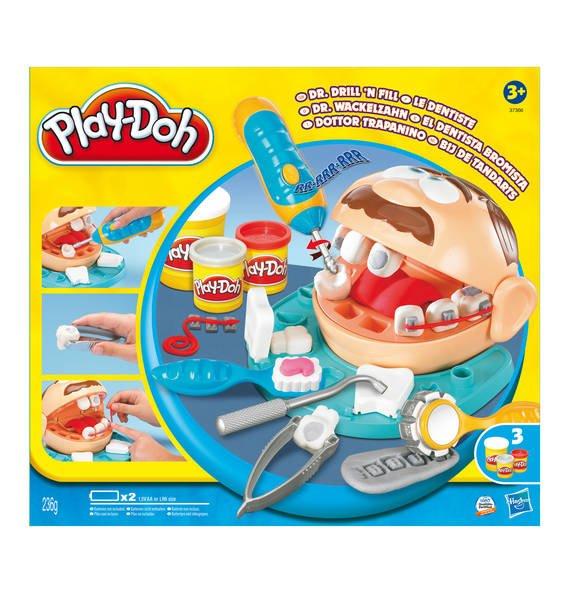 [Galeria-Kaufhof.de] Play Doh Dr. Wackelzahn für 11,99€ (bei Filialabholung) statt ca. 18€