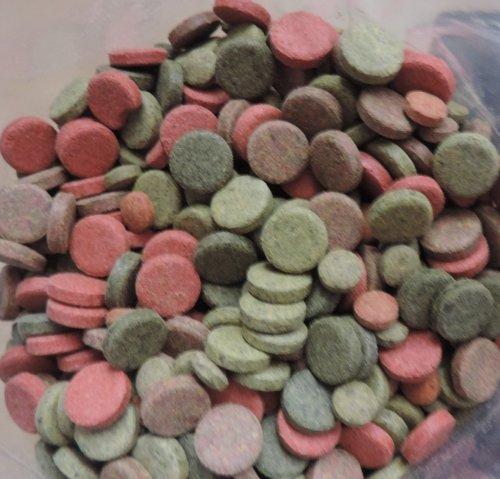 Futtertabletten Mix 1 kg, 4 Sorten von Tropical