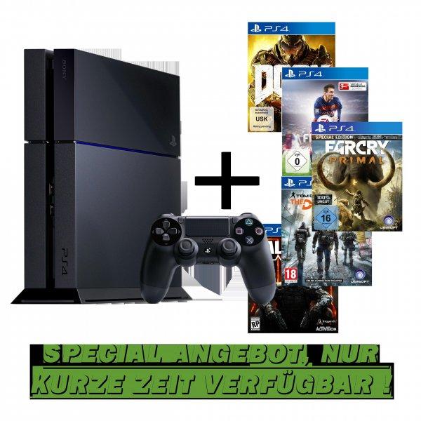 Playstation 4 500GB / NEUES MODELL / + Spiel nach Wahl ab 299,99 €