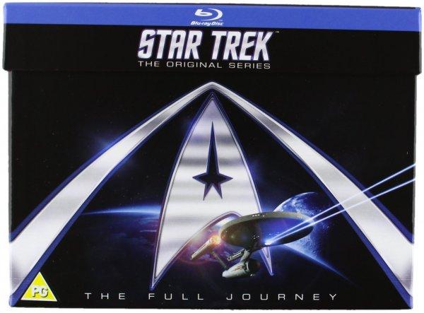 [Zavvi] Star Trek: The Original Series - Complete Box Set (mit William Shatner und Leonard Nimoy; 20 Blurays) (dt. Tonspur) für 52,65€