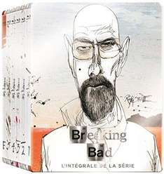 Breaking Bad - Die komplette Serie (Art Collection Steelbook Blu Ray) mit O-Ton inkl. Vsk für 51,01 € > [amazon.fr]