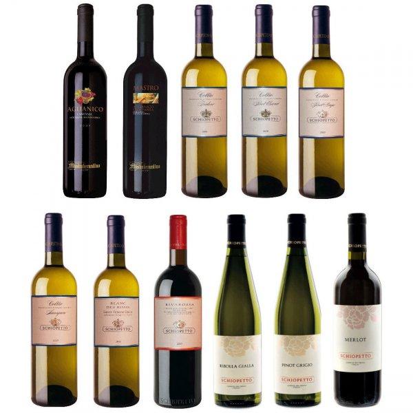ebay WoW 6 Flaschen italienischer Gourmet Weisswein & Rotwein DOC - teilweise mehrfach prämiert und 88/89 Parkerpunkte sowie UVP 99€