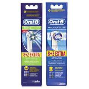 [Lokal REAL] Oral B Cross Action 8+2 Aufsteckbürsten