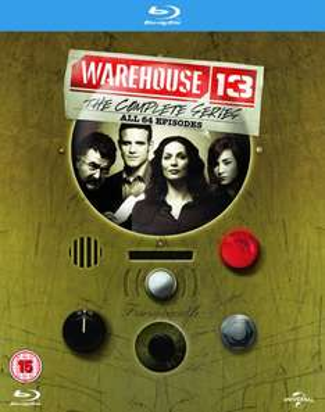 Warehouse 13: Die komplette Serie [16 Discs] [Blu-ray] mit Deutscher Tonspur inkl. Vsk ~ 37,87 € > [amazon.uk]