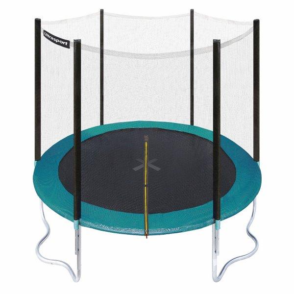 (Amazon Tagesdeal) Ultrasport Gartentrampolin Jumper 251 cm inkl. Sicherheitsnetz für 135,99€ inkl. Versand