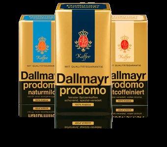 Dallmayr Prodomo, verschiedene Sorten 500g Packung, Penny Markt bundesweit ab heute