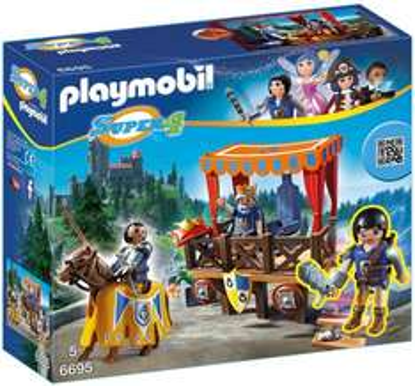 Playmobil™ - Super 4: Königstribüne mit Alex (6695) für €15.- [@Real.de]