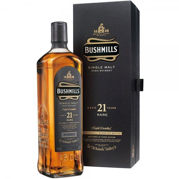 [Amazon] Bushmills Single Malt 21 Jahre 0,7l (Irischer Whiskey) für 70,34 Euro