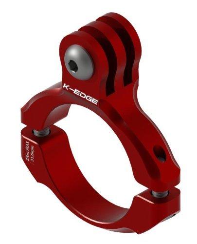(AMAZON Prime) K-Edge  GO BIG - GoPro Lenkerhalterung zur Montage in rot - 9,41€