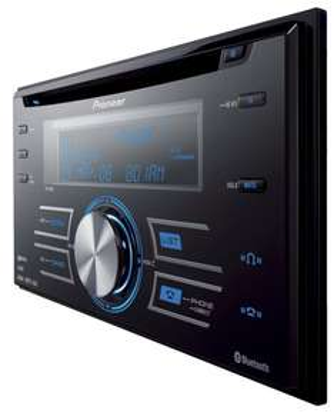 Pioneer FHP80BT 2-DIN CD-Tuner für 119,95 Euro