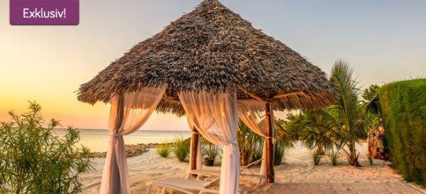 Sansibar Reise: 11 Tage im 3* Strandresort inkl. Frühstück & Meerblick schon für 546€ mit Flügen