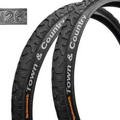 "2x Continental Town&Country + 2x Continental 26"" MTB Schlauch: 31,75€"