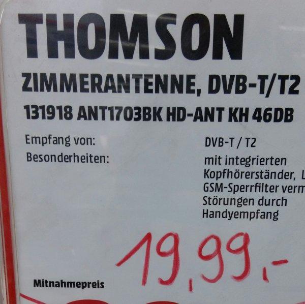 Thomson ANT1703BK(DVB-T/T2), Waltersdorf/Berlin