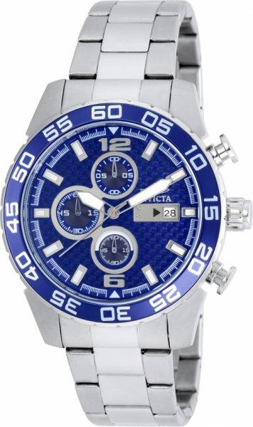 Invicta Herren-Armbanduhr/Chronograph Specialty model 21376 blau