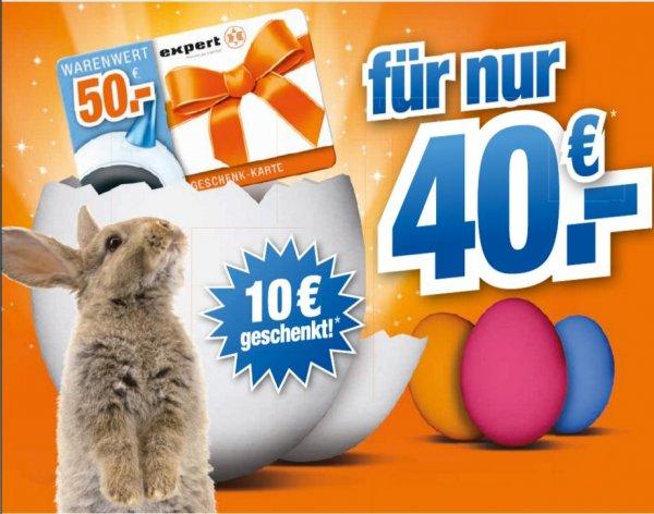 hem expert und Octomedia: 50 EUR Geschenkkarte für 40 EUR