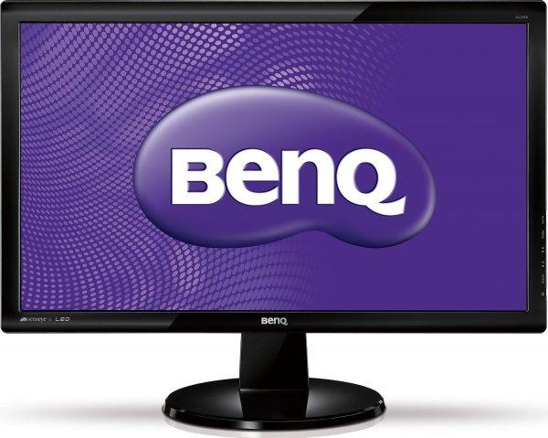 """BenQ GL2450 für 109,90€ - 24"""" LED Monitor mit DVI Anschluss @ Amazon"""