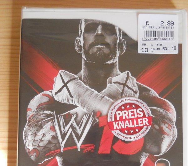 [Ratio Baunatal] WWE 13 für Nintendo WII - NUR 2,99€ anstatt 29,99€