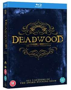 Deadwood Complete Collection Staffel 1-3 auf BluRay für 20,09 Euro inkl. Versand