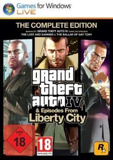 [STEAM] Grand Theft Auto IV & Episodes from Liberty City - The Complete Edition