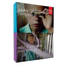 [redcoon] Adobe Photoshop Elements 14 + Premiere Elements 14 (Box, DE)