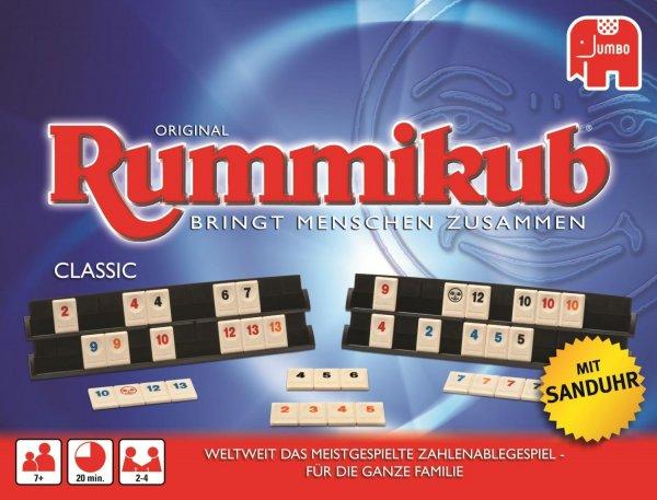 [Amazon Prime] Jumbo 17571 - Original Rummikub Classic für 12,79€