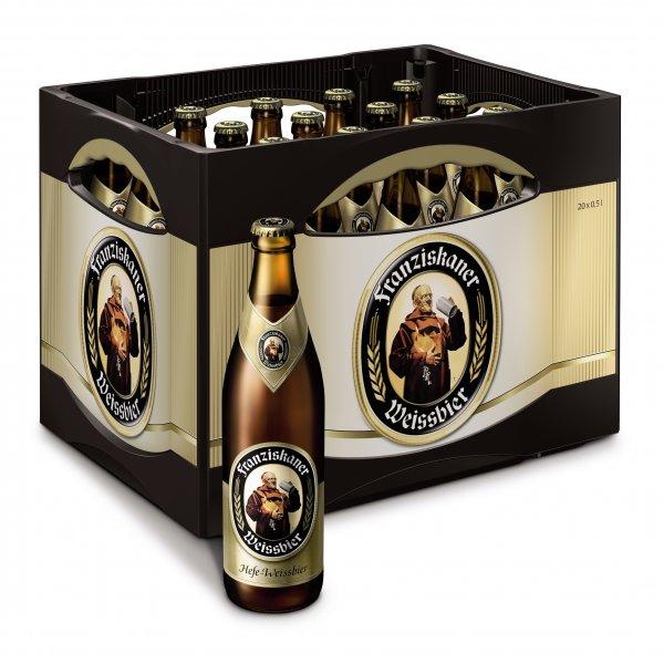 [V-Markt] 2 Kisten Franziskaner Weißbier für 20€