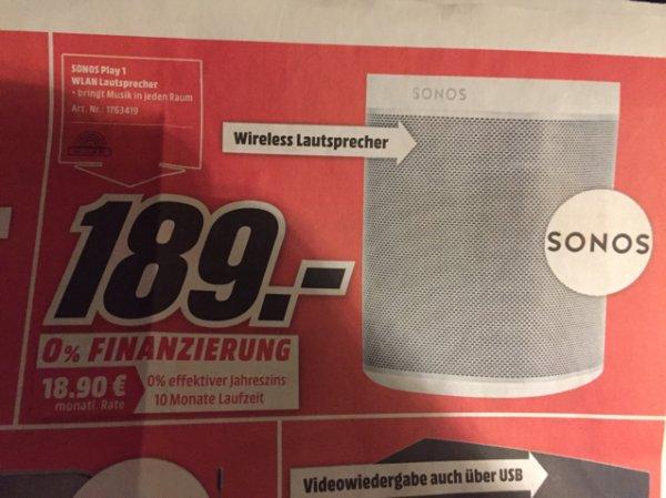 [Media Markt Neuwied und Koblenz] Sonos Play 1