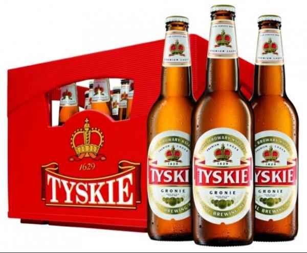 2 Kästen Tyskie oder Lech-bestes polnisches Bier-Piwo-Browar-Piana bei Trinkgut