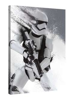 Star Wars 7 Force Awakens – Stormtrooper 2015 Artwork 75x100cm – XXL Leinwand-Druck @ Amazon 9,95 €