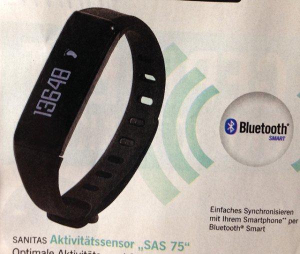 [Lidl on/offline] Smartband Sanitas SAS 75 ab 29.3.