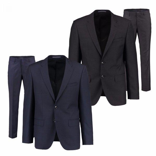 """Tommy Hilfiger Herren Anzug """"Butch Rhames"""" Zweiteiler Sakko Anzughose Grau Blau für 219,95 € [engelhorn@eBay]"""