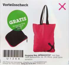 "[Mömax offline] Shopping Bag ""MÖMAX 4YOU"" gratis"