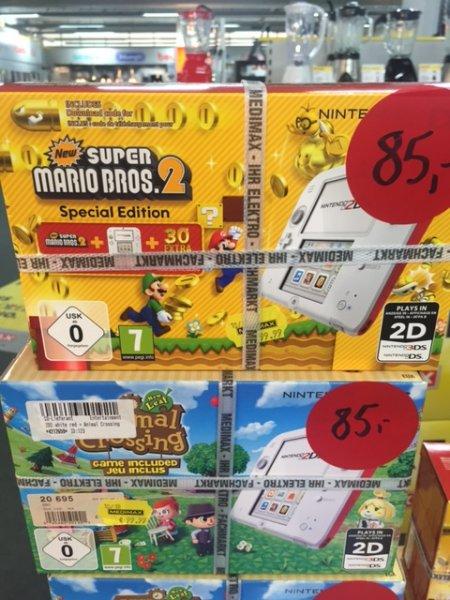 Nintendo 2DS mit Animal Crossing oder Super Mario Bros 2 (Hannover)