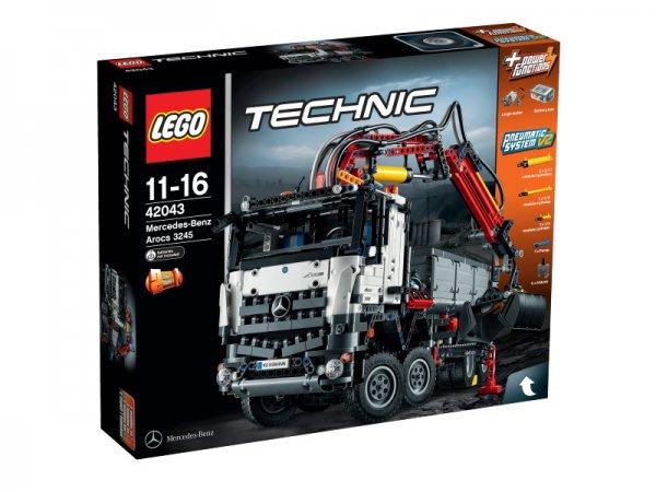 LEGO Technik Mercedes-Benz Arocs 3245 für 128,20 inkl. Lieferung, andere Legopreise auch super