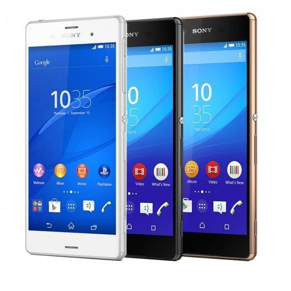 Sony Xperia Z3 für 279,90 € - 5,2'' | 3 GB RAM | 1920 × 1080 px | Snapdragon 801 | 16 GB Flash (erweiterbar) | 3.100 mAh Akku | staub- und wasserdicht [price-guard@eBay]