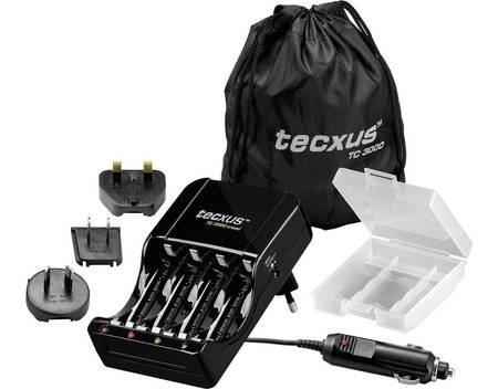 Tecxus TC 3000 travel Microprozessorgesteuertes Ladegerät für 12,95 € @ Allyouneed (Conrad)