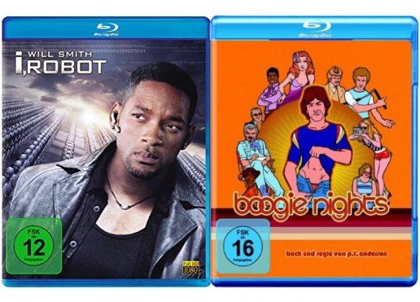 I, Robot Blu-ray für 4,87€, Boogie Nights Blu-ray für 4,56€ @ Amazon.de mit Prime oder + 3€ Versandkosten bzw. ein Buch