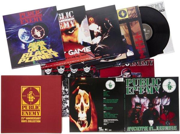 @Amazon IT: Public Enemy - 25th Anniversary Vinyl Collection für 104,30€ inkl. Versand