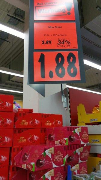 Kaufland - Ferrero: Mon Chéri & Mon Cheri Sweet Cherry - 1,88 Euro